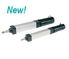 Pneumatic replacement electric cylinders